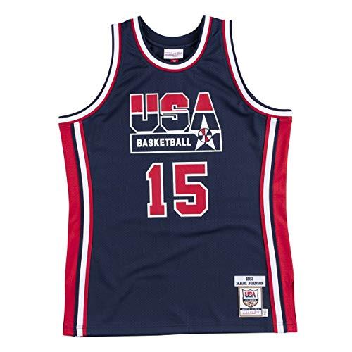 Mitchell & Ness Maillot authentique Team USA NBA Magic Johnson