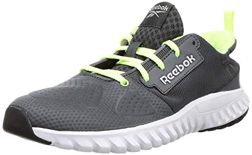 Reebok Boy's Aim Runner Lp True Grey/Electric Flash Running Shoes-13.5 UK (31.5 EU) (1 Kids US) (FV9939)