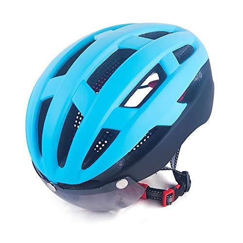SDKUing Abus Aduro Allround-Helme, Fahrradhelm FahrradhelmDamen Herren,Verstellbarer Schutz für Erwachsene und atmungsaktive Mountainbike-Fahrradhelme Erwachsene Fahrradhelm