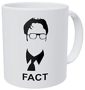 Wampumtuk Jim Halpert The Office Fact - 11 Ounces Funny Coffee Mug