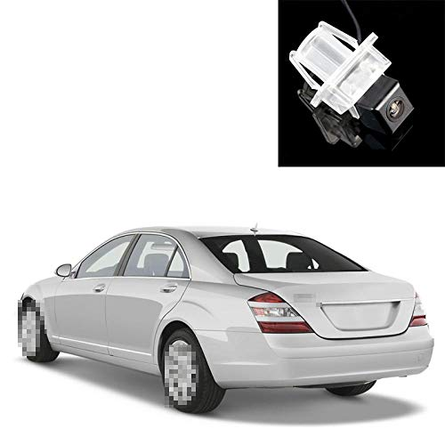 QWERQF View Back Up Camera,For Mercedes Benz S Class MB S250 S300 S350 S400 S450 S500 S550 S600 S320 S420 S63 S65