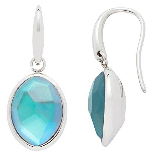 Leonardo Jewels Damen Ohrhänger Misterioso Edelstahl Glas blau   016200
