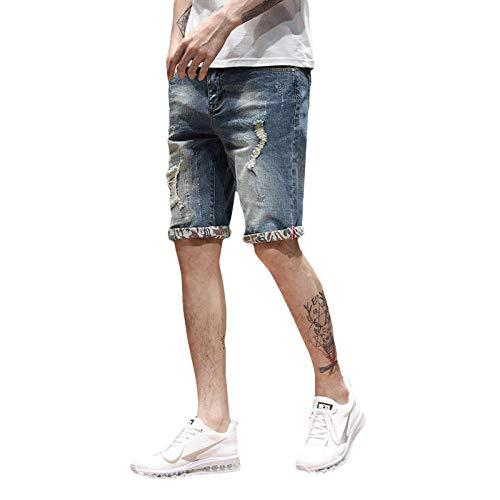 Korte broeken Jeans Herenjeans Cropped Broeken Midbroeken Rechte Broeken Flens