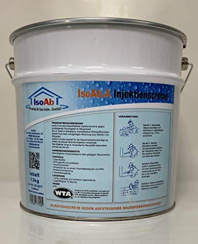 Injektionscreme 13kg gegen Mauerfeuchtigkeit