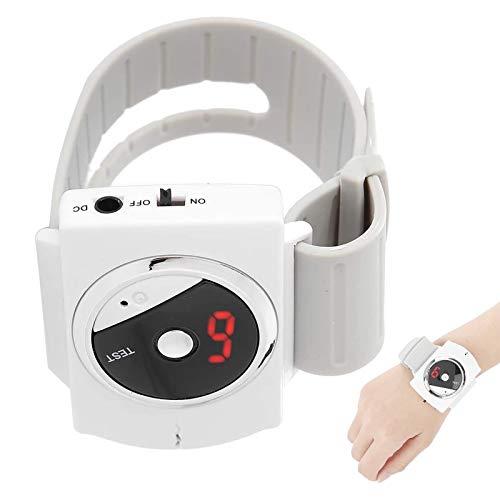WOERD Pulsera Antironquidos Infrarroja Reloj Antironquidos para Dormir Apnea Electrónico Inteligente Snore Stopper Anti Snoring Wristband Device para Hombres Mujeres4 pcs