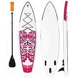 Tabla De Surf Inflable Stand Up Paddle Board Ultraligero (240 * 76 * 10Cm) Sup con Paleta Adj, Mochila ISUP, Bomba, Correa para Adultos Y Niños De Todos Los Niveles De Surf