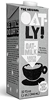 Oatly Oat Milk Barista Edition — Dairy Free, Vegan & Plant Beverage — 32 OZ (2 Packs of 12)