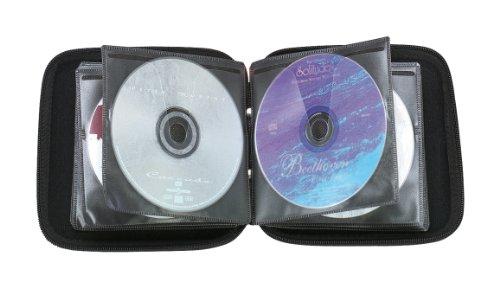 Beco CD Album 28 CDs hoes llen, vlies, blauw, 49451