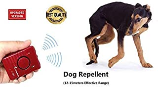Ultrasonic Dog Repellent Sonic Deterrent Ultrasound Pet Chaser Animal Repeller Training Trainer Bark Stop Control Device Rechargeable