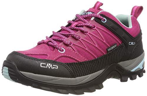 CMP Damen Rigel Low Wmn Shoe Wp Trekking- & Wanderhalbschuhe, Pink (Karkadé-Anice 15hc), 37 EU