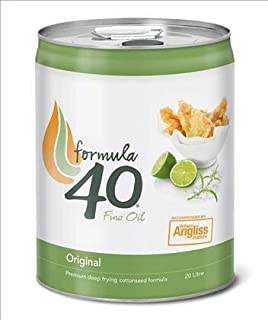 20L Oil COTTONSEED Formula 40