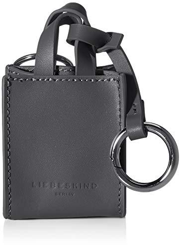 Liebeskind Berlin Damen Paper Bag Keyring Schlüsselanhänger, Black, OneSize