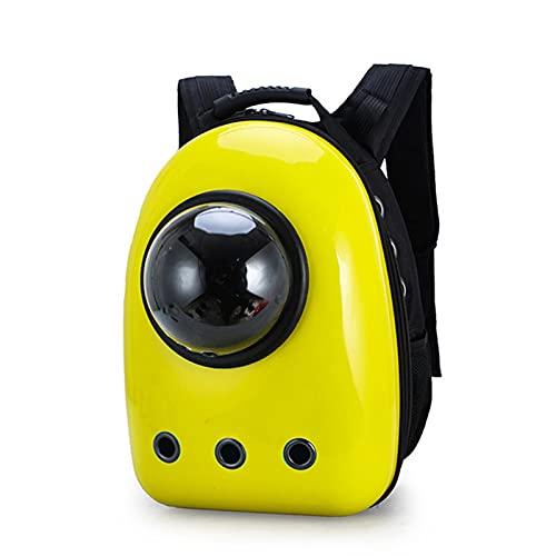 ZZWBOX Mochila de Viaje para Mascotas,con Forma de cúpula de Perro,portátil,Impermeable,Transpirable,para Senderismo,Viajes