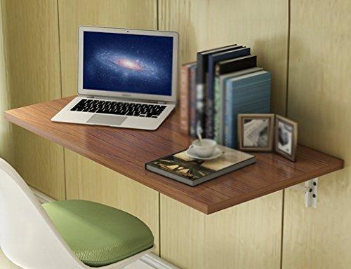 LYLSXY Escritorio de la computadora montado en la pared del hogar - Mesa de comedor plegable de madera maciza Escritorio de la computadora montado en la pared Mesa de aprendizaje Escritorio de