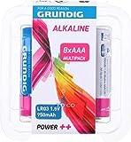 Grundig Pilas alcalinas LR03 AAA (8 unidades)