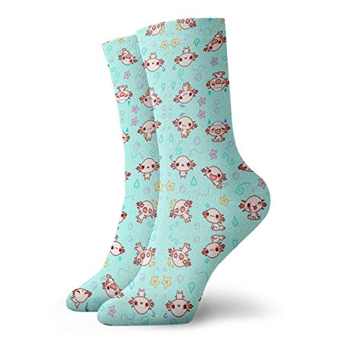 Calcetines Casuales Eloise The Axolotl Kawaii Cute Animal Printed Sport Athletic Calcetines Calcetines de...