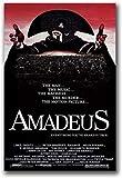 YUMKNOW Impression sur Toile 50x70cm sans Cadre Affiche de Film de biographie de Mozart de Film d'Amadeus et Impressions sur Le décor à la Maison de Mur