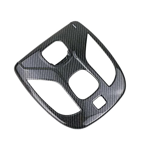 SHENG Ajuste para Jeep Compass 2017-2020 Coche De Estilo Cubierta Interna Stick Frontal Cabeza Frontal Lectura Interruptor De Lectura Lámpara De Luz Frame (Color Name : Black)