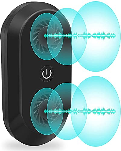Ultrasonic Pest Repeller, 20W High Power with 2 Speakers Frequency Conversion Technology, Plug-in Indoor Electronic Bionic Wave Insect Repellent, Repels Insects, Mice, Mosquitoes, Ants, Cockroaches