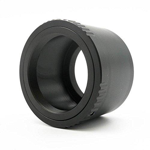 Quenox Objektiv-Adapter für T2-Objektiv oder Zubehör an Fuji-X-Mount-Kamera - z.B. für Fujifilm Finepix X-T20, X-T10, X-T2, X-T1, X-E2S, X-E2, X-E1, X-A10, X-A3, X-A2, X-A1, X-M1, X-Pro2, X-Pro1