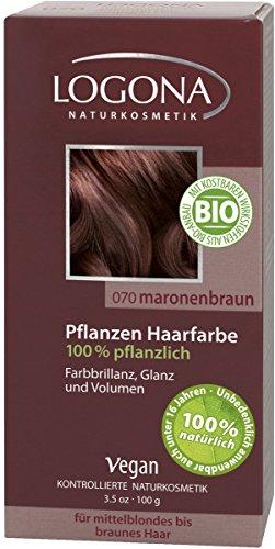 Pflanzen-Haarfarbe 070 Maronenbraun - 100 g
