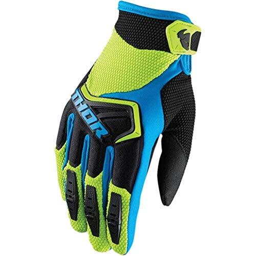 You will think of me Guantes de Motocross 6 Colores MTB-Guantes BMX ATV-MTB-Guantes de Moto de Carretera-Guantes de Bicicleta de Montaña (Color : Verde, Tamaño : M)