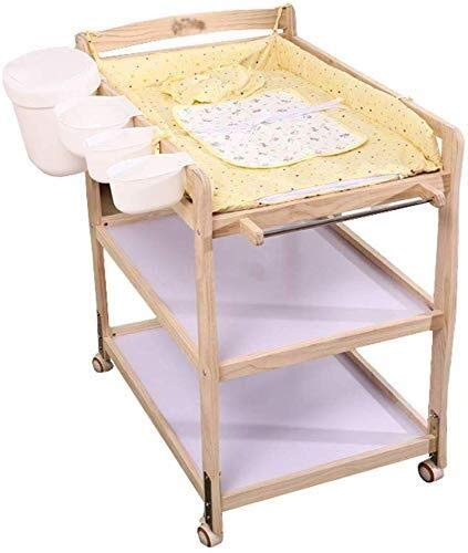 LQBDJPYS Cambiador bebé Bebé Cambiador 3 armarios