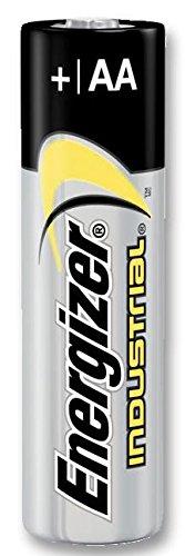 Energizer Industrial AA-Batterien Alkaline LR6 EN91, 10 Stück