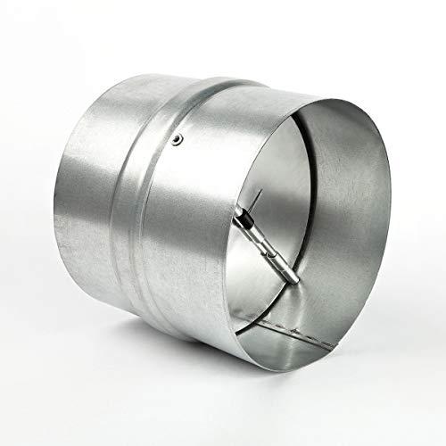 neverest RK 150 mm Rückstauklappe Verbindungsstück Lüftungsrohr Lüftungsanlage