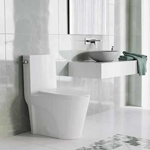 Swiss Madison St. Tropez One Piece Elongated Toilet (Side Flush)