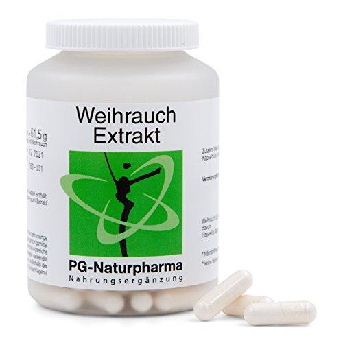 Boswellia Serrata puro, vegano, Incienso, 120 cápsulas cada una con 450 mg de extracto de Boswellia Serrata, cápsulas de incienso de dosis altas, con 65% de ácido de Boswellia