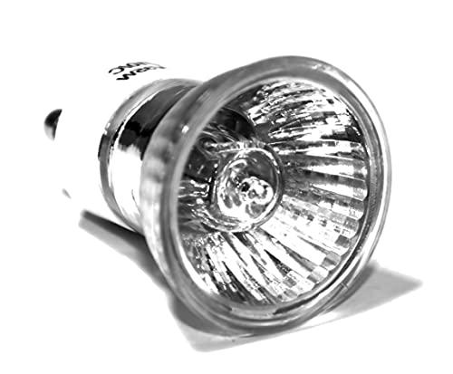Bombilla halógena de repuesto para lámpara de lava Mathmos (35 W, GU10, 230 V, 35 mm)