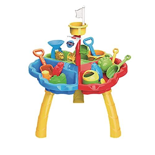 Strandspeelgoed Set, Strandzand En Watertafel DIY Zand Water Spelen Activiteit Tafel Speelgoed Kinderen Outdoor Indoor Zomer Beach Toys Gift Voor Kinderen Jongens Meisjes