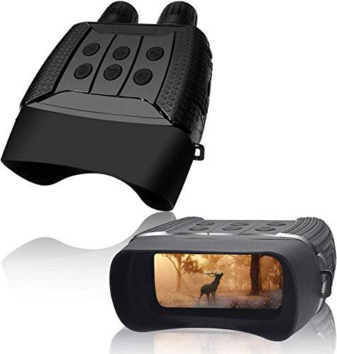 """Gafas de Visión Nocturna prismáticos, Visión Nocturna Infrarrojos Digitales HD Photo & Video 960P, Gafas de Noche con LCD TFT de 2,31"""", para observación de la Naturaleza, Caza y reconocimiento"""