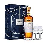 ABK6, Cognac VSOP 70cl, 40% alc, Coffret cadeau 2 verres, Elu WORLD BEST COGNAC VSOP...