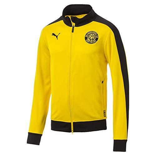 PUMA Herren BVB T7 Track Jacket Jacke, Cyber Yellow, S