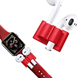 Supporto per AirPods & Apple Watch Bracciale di DnA Tech® – Morbido silicone – Anti L...