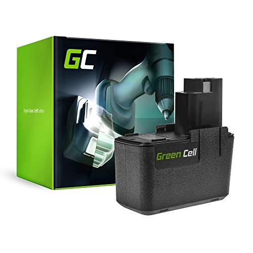 GC® (2Ah 9.6V Ni-MH cellen) Accu Batterij Vervangend batterijpakket voor Flex BS 596B Elektrisch gereedschap