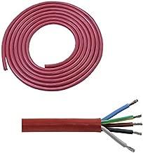 C/âble textile rond LUMI/ÈRE pour /éclairage Klartext 3 x 0,75 mm 3 m or Attention : c/âble terre inclus S/écurit/é maximale contre les chocs.
