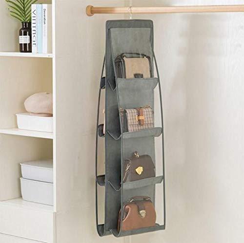 Organizador de armario para bolsos con 8 compartimentos cuel