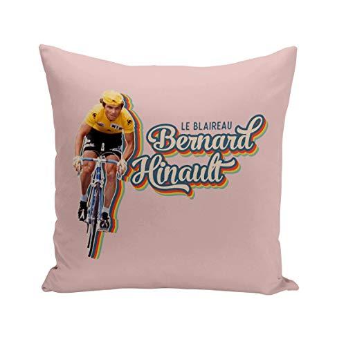 Fabulous Coussin 40x40 cm Bernard Hinault Vintage Vélo France Cyclisme Tour