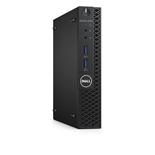 DELL OptiPlex 3050m 3.4GHz i3-7100T Mini PC Negro Mini PC - Ordenador de sobremesa (3,4 GHz, 7ª generación de procesadores Intel Core i3, i3-7100T, 4 GB, 128 GB, Windows 10 Pro)