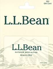 L.L. Bean gift cards never expire No redemption fees Always the perfect fit No returns and no refunds on gift cards.