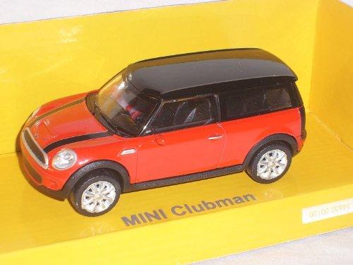rastar Mini Cooper S Clubman Rot 1/43 Modell Auto Modellauto