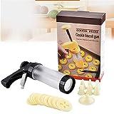 LaceDaisy Presse per Biscotti Pistola sparabiscotti per Dolci con trafile Cookies Maker Bi...