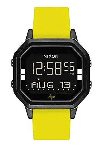 Nixon Reloj Mujer de Digital con Correa en Silicona A1211-2972-00