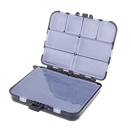 26 Compartimentos Caja de Pesca de plástico Caja de Cebo de Carpa Fresos de Pescado Hooks Caja de Almacenamiento Equipo de Pesca de Carpa Cajas de Aparejos de Pesca (Color : 26Compartments)