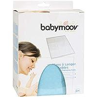 Babymoov 432201 - Cambiadores ultra absorbentes y desechables, tamaño 44.5 x 60.5 cm (pack de 10 unidades)