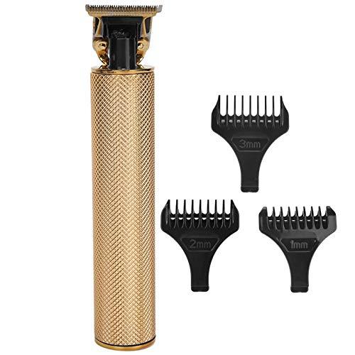 Cortadora de pelo eléctrica, recortadora de barba, carga rápida, portátil, sin dientes...