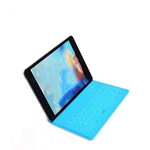 ipad ultradunne waterdichte oplaadbare bluetooth-toetsenbordstandaard alles-in-een lichtgewicht draagbare tablet bluetooth-toetsenbord